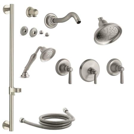 Kohler Shower Rods Brushed Nickel
