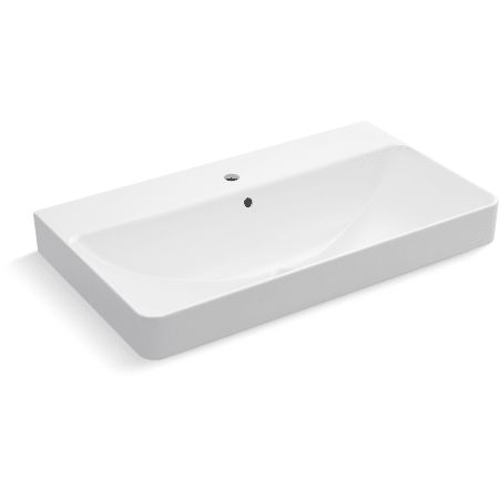 A Large Image Of The Kohler K 2749 1 White