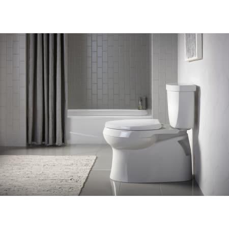 Kohler K 5310 0 White Cimarron Comfort Height 1 28 Gpf Two