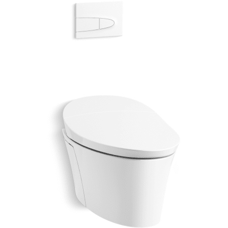 Kohler K 5402 0 White Veil 0 8 1 6 Gpf Elongated Wall