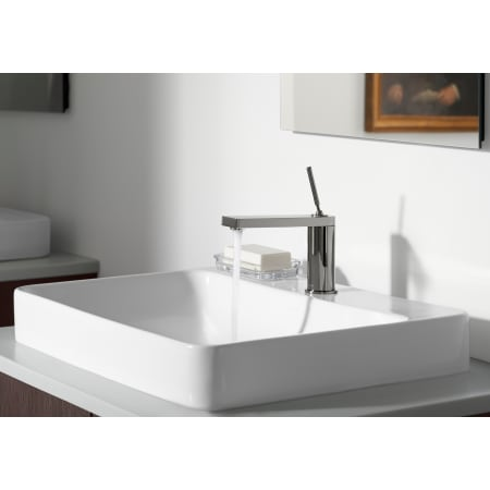 kohler k 2660 1 0 white vox 22 quot vessel sink with overflow 19026