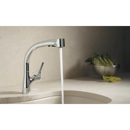 Kohler K 13963 Cp Polished Chrome Elate Kitchen Sink