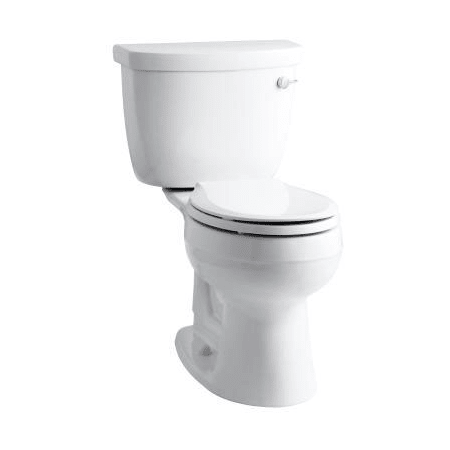 lowes kitchen sinks kohler k 3887 ur 0 white cimarron two toilet 3887