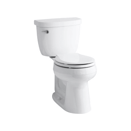 Kohler K 3888 0 White Cimarron 1 6 Gpf Two Piece Round