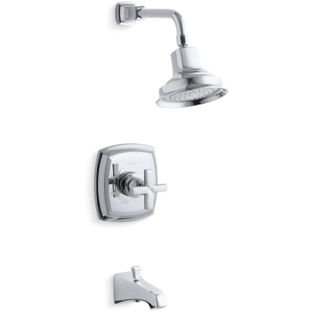 Kohler K Ts16225 3 Cp Polished Chrome Single Handle Tub And Shower