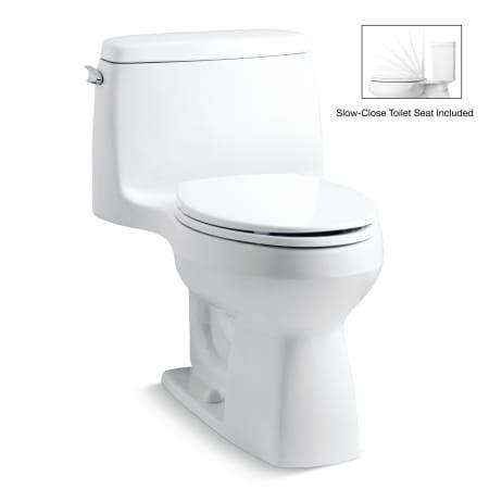 Kohler K 3810 0 White Santa Rosa 1 28 Gpf One Piece