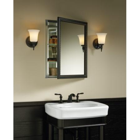 Kohler K 2967 Br1 Oil Rubbed Bronze 20 Quot X 26 Quot Single Door Reversible Hinge Framed Mirrored