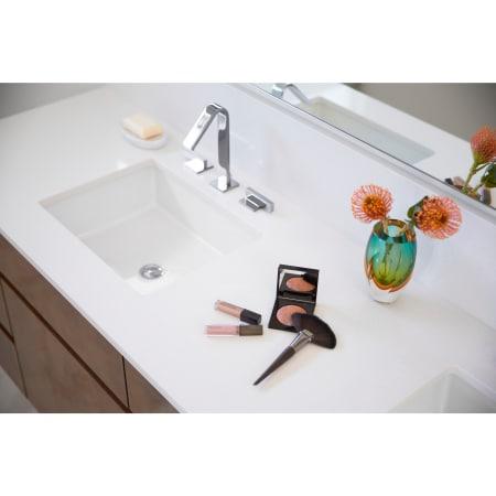 Kohler K 2882 0 White Verticyl 19 13 16 Quot Rectangular Undermount Bathroom Sink With Vertical