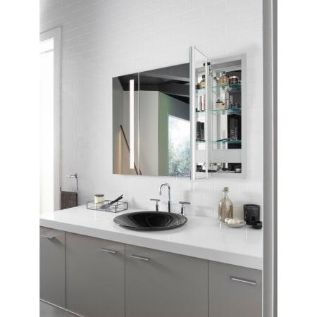 Kohler K 99011 Tl Na N A Verdera 40 Quot X 30 Quot Single Door Frameless Medicine Cabinet With