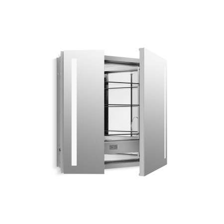 Kohler K 99009 Tl Na N A Verdera 30 Quot X 34 Quot Lighted Mirrored Medicine Cabinet With Plain Mirror