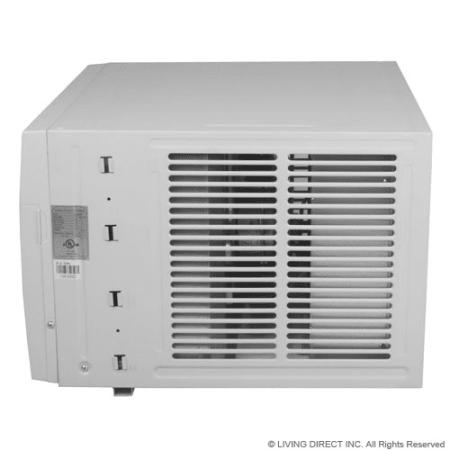 Koldfront Wac8001w White 8000 Btu 115v Window Air