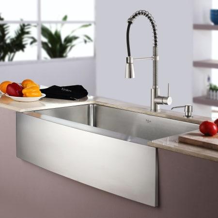 Kraus Khf200 33 Kpf1612 Ksd30 Kitchen Sink Build Com