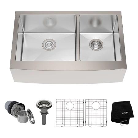Kraus KHF203-33 Kitchen Sink - Build.com