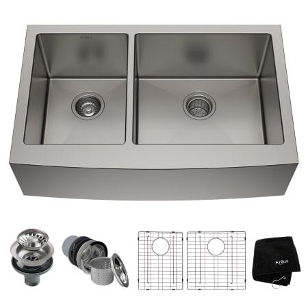 Kraus KHF204-33 Kitchen Sink - Build.com