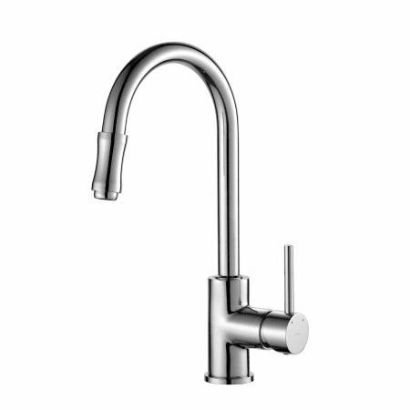 Kraus KPF 1622CH. Pullout Stream Kitchen Faucet