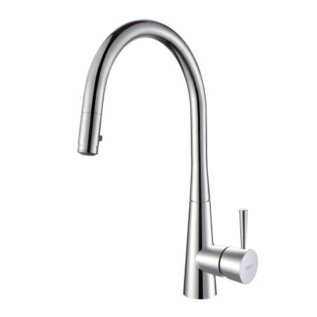 Kraus KPF-2240CH Chrome Pullout Kitchen Faucet - Faucet.com