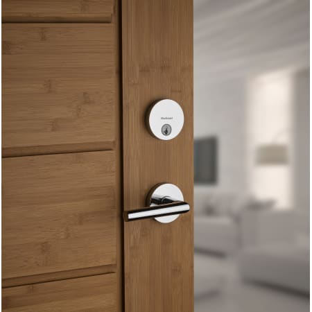 Kwikset 154milrdt 26d Satin Chrome Milan Passage Door
