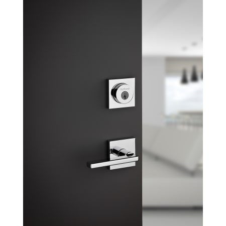 Kwikset 155hflsqt 514 Iron Black Halifax Privacy Door