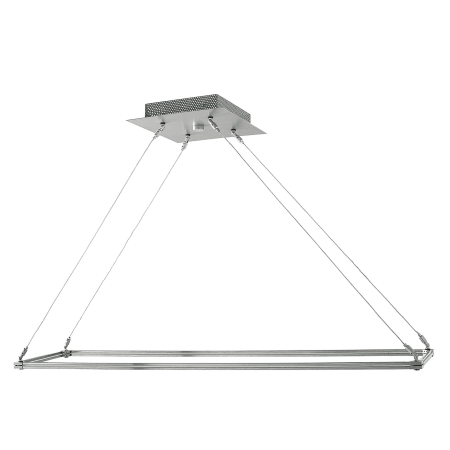 lbl lighting hs133 n a contemporary modern rectangular chandelier
