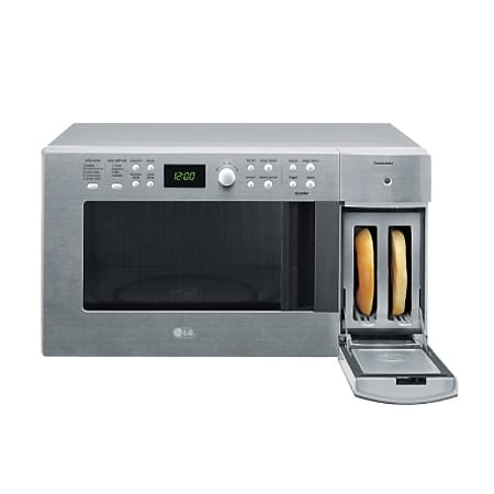 wall toaster combination lg food microwave oven combo and