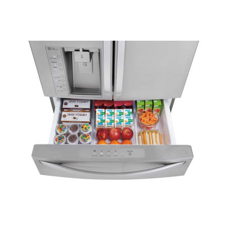 Lg Lmxs30776d Black Stainless Steel 30 Cu Ft 36 Inch
