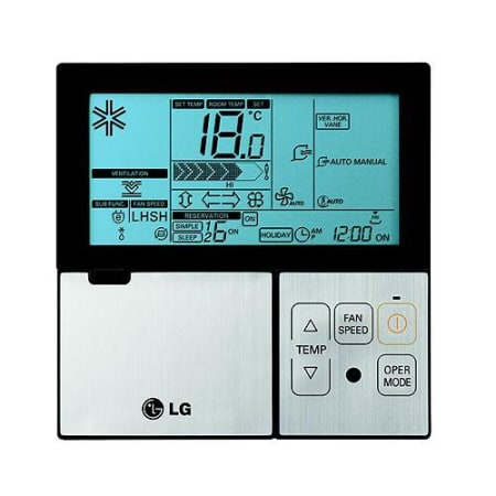 Lg Wired Wall Thermostat For Single Zone Mini Splits