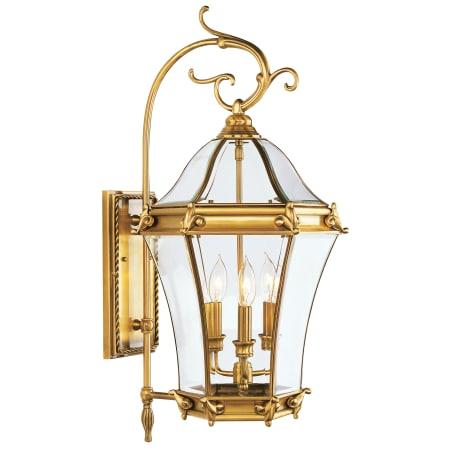 Livex Lighting 2623 07 Bronze Fleur De Lis 3 Light Outdoor