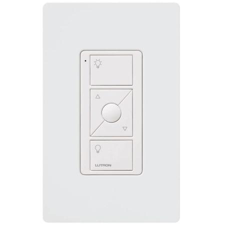 Lutron Pj2 Wall Wh L01 White Pico Remote Control Wall