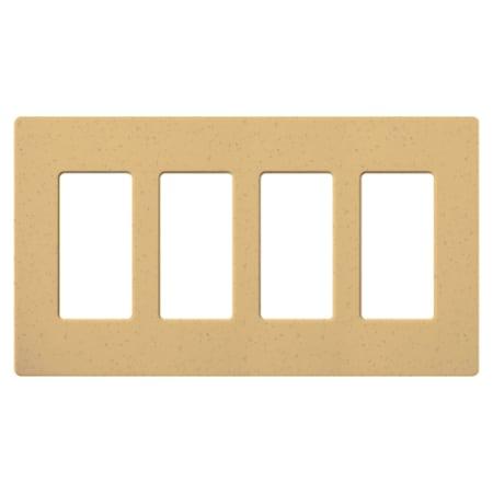 Lutron Sc 4 Gs Goldstone Claro Four Gang Designer Wall