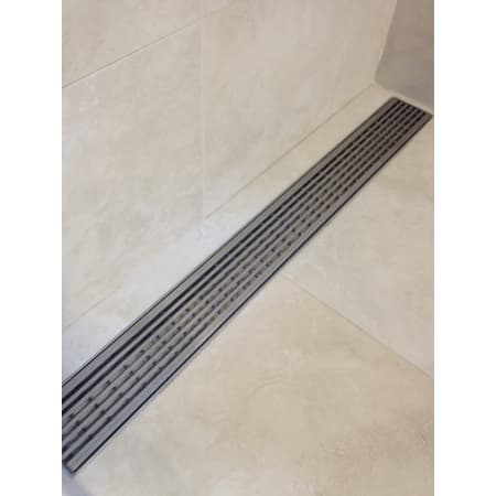Luxe Linear Drains Ww 30 Satin Stainless 30 Quot Wedgewire