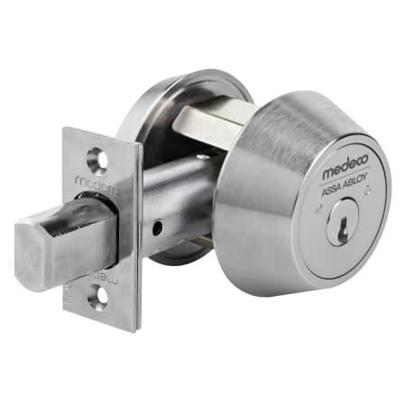 Medeco 11 C60 26 Satin Chrome 6 Pin Single Cylinder High