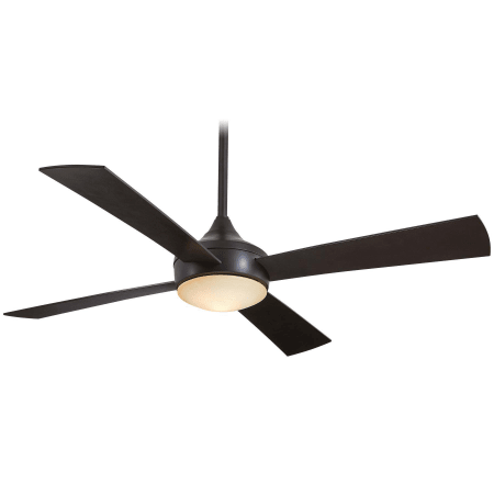 indoor outdoor ceiling fans with light kit large image of the minkaaire aluma wet oil rubbed bronze f523orb blade 52
