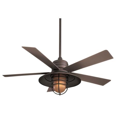 Minkaaire F582 Orb Rainman 5 Blade 54 Indoor Outdoor Ceiling Fan