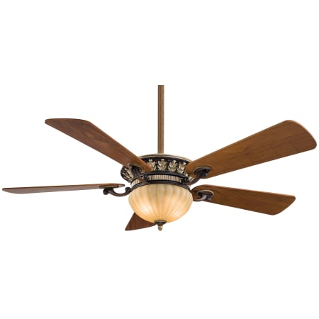 Minkaaire F702 Bcw Volterra 5 Blade 52 Ceiling Fan Integrated Up Down Lights