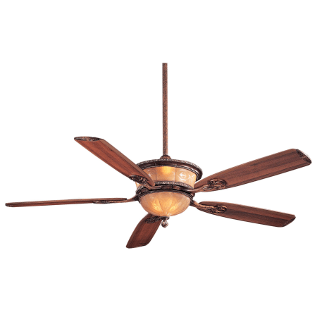 Minkaaire f820 ct cattera bronze 5 blade 60 ceiling fan light minkaaire santa lucia aloadofball Images