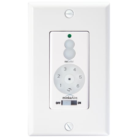 Minkaaire Wc1000 White Wall Control For Six Speed Dc Ceiling Fan Lightingshowplace Com