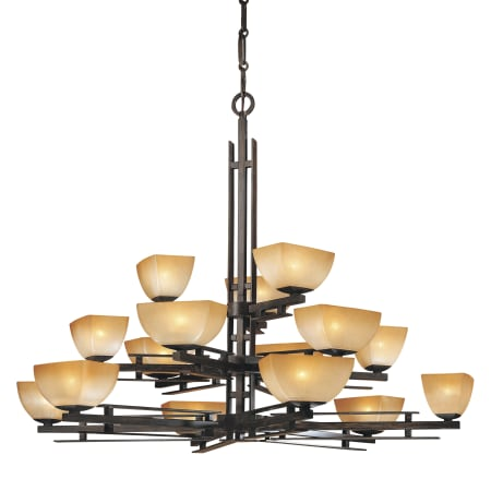 3 tier chandelier wine glass large image of the minka lavery ml 1278 iron oxide 1278357 15 light tier chandelier from