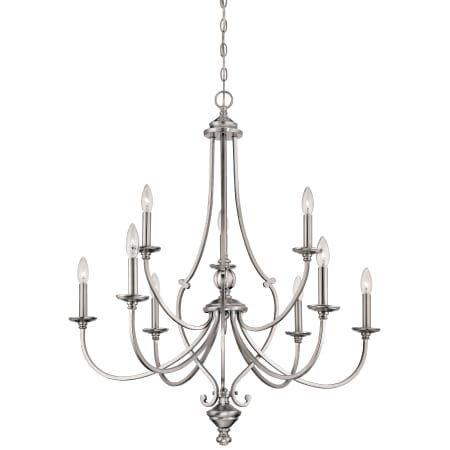 A Large Image Of The Minka Lavery 3339 84 Brushed Nickel