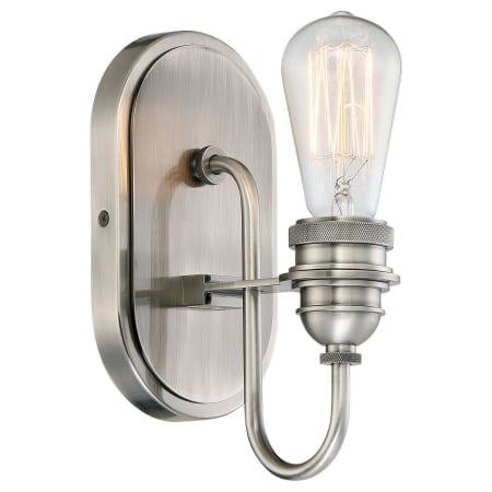 Minka Lavery 3451 84b Plated Pewter 1 Light Bathroom