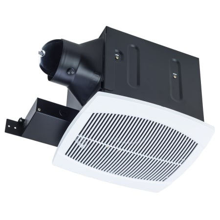 Miseno mbf080 wh white white 80 cfm ceiling mounted ultra - Ultra quiet bathroom exhaust fan with light ...
