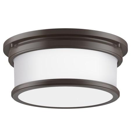 Miseno Mlfl4032orb 13 Wide 2 Light Flush Mount Drum Ceiling
