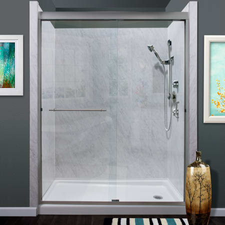 Miseno Msdc6072 Bn Brushed Nickel Azul 72 Quot High X 60 Quot Wide
