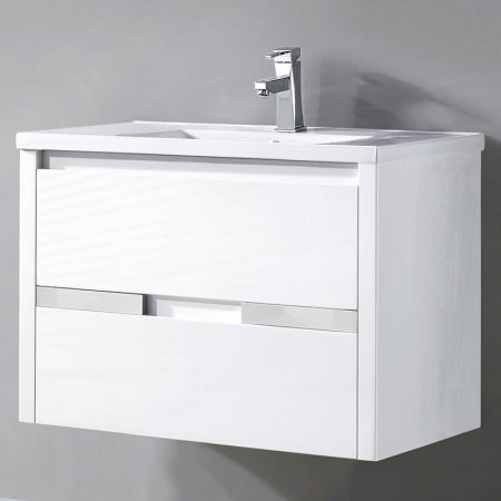 Miseno Mvch32 White 32 3 10 Quot Wall Mounted Vanity Set With