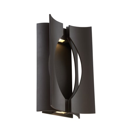 Modern Forms Ws W27515 Bz Bronze Origami 1 Light Led