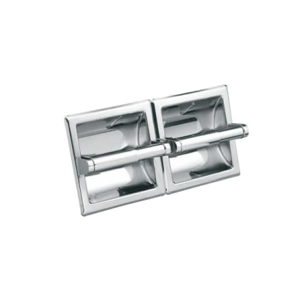 Moen Csi5577 Chrome Recessed Double Roll Toilet Paper