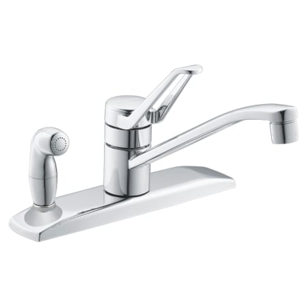 Moen 7231 Chrome Faucet Kitchen Single Handle From The Legend Series Faucetdirect Com