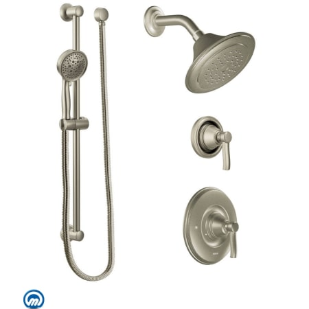 Moen 2025. Click To Zoom. Brushed Nickel