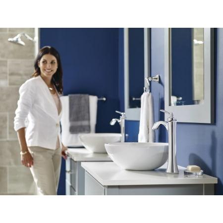 Moen 4507BN Brushed Nickel Wynford Single Hole Bathroom