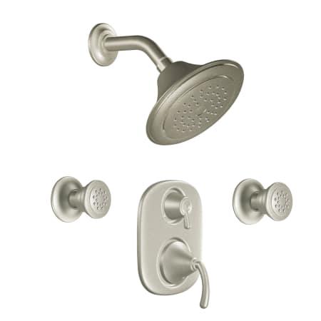 Moen 783bn Brushed Nickel Pressure Balanced Shower System