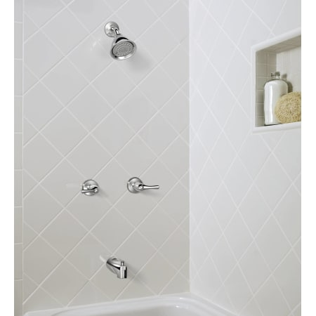 Moen 82009 Chrome Thermostatic Tub And Shower Trim With 2